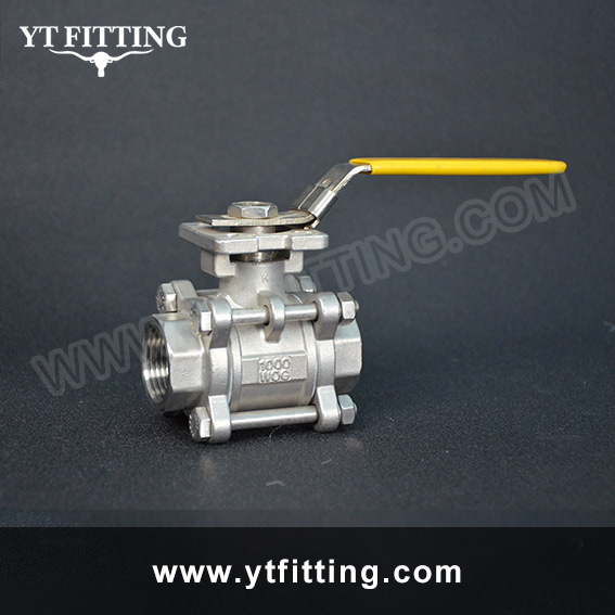 Ball Valve with ISO5211 Mounting Pad